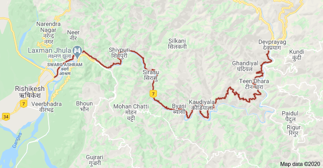 MAP-TO-BADRINATH